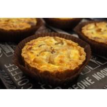 【巧米巧克】菌菇法式鹹派(蛋奶素,無麩質,全新生活)4入
