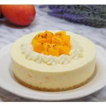 【巧米巧克】芒果生乳酪蛋糕(夏季限定,可改無麩質+赤藻糖醇)