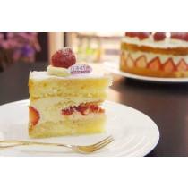 【巧米巧克】無麩質草莓芙蓮蛋糕(蛋奶素,冬季限定,6吋)